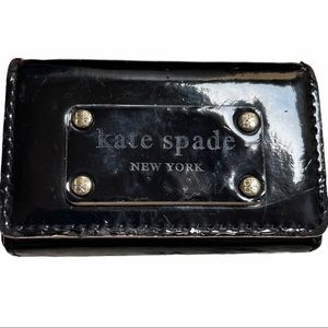 Kate Spade Patent Leather Business Card Holder